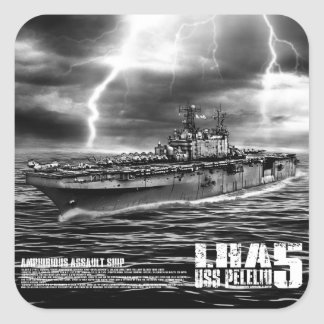 Amphibious assault ship Peleliu Sticker