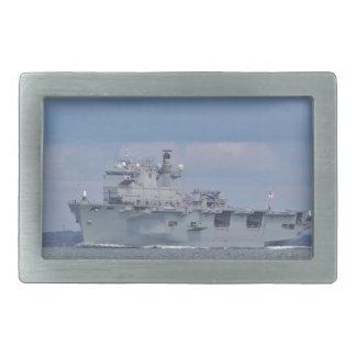 Amphibious Assault Ship Rectangular Belt Buckle