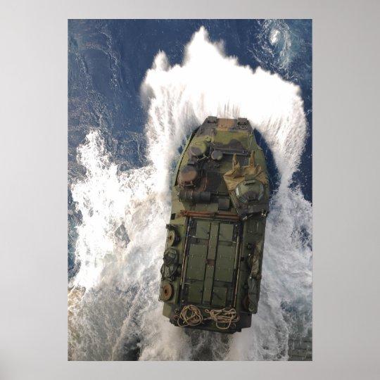 Amphibious Assault Vehicle Poster