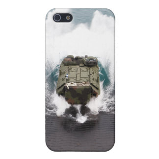 Amphibious assault vehicles disembark from USNS iPhone SE/5/5s Cover