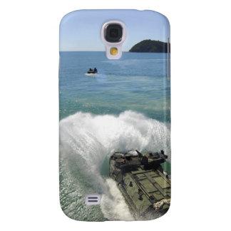 Amphibious Assault vehicles exit the well deck Galaxy S4 Case