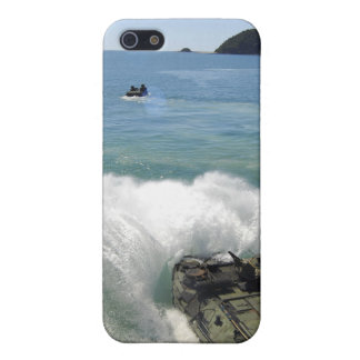 Amphibious Assault vehicles exit the well deck iPhone SE/5/5s Cover