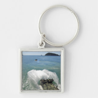 Amphibious Assault vehicles exit the well deck Keychain