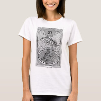Amphibious Collage Baby Doll Tee