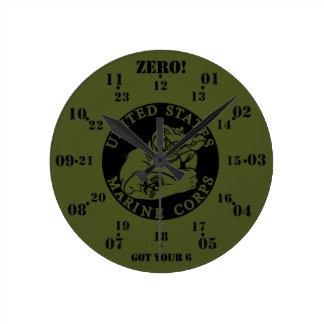 Amphibious Gator 12/24 Clock