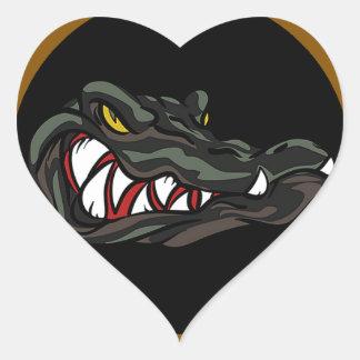 Amphibious Since 1941 Heart Sticker