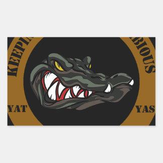 Amphibious Since 1941 Rectangular Sticker