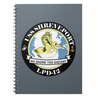 Amphibious Transport Dock LPD-12 - USS Shreveport Notebook
