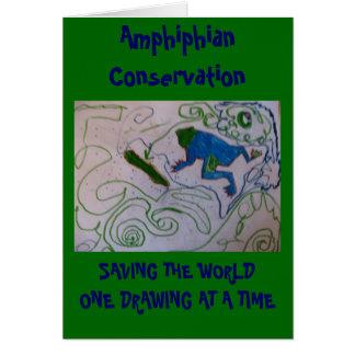 Amphiphian Conservation Card