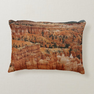Amphitheater at Bryce Canyon National Park in Utah Decorative Pillow