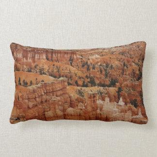 Amphitheater at Bryce Canyon National Park in Utah Lumbar Pillow