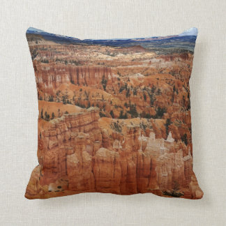 Amphitheater at Bryce Canyon National Park in Utah Throw Pillow
