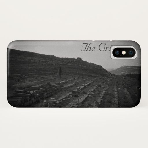 Amphitheater Limestone Quarry in the Crimea iPhone X Case