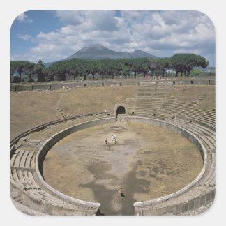 Amphitheatre, begun c.80 BC Square Sticker
