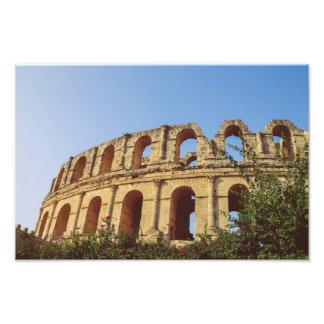 Amphitheatre de Túnez Arte Fotografico
