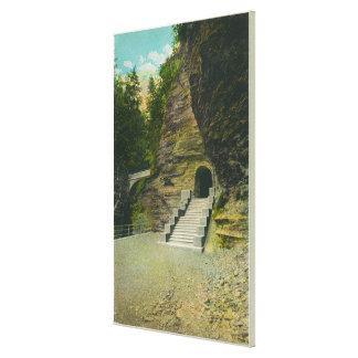 Amphitheatre Entrance View Gallery Wrap Canvas