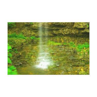Amphitheatre Falls, John Bryan state park, Ohio Canvas Print