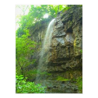 Amphitheatre Falls, John Bryan state park, Ohio Photo Art
