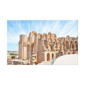 Amphitheatre romano impresiones en lona