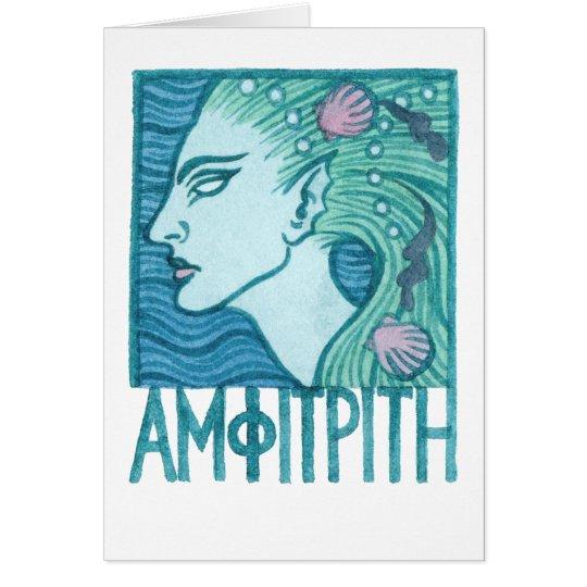 Amphitrite Greeting Card