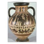 Amphora del Corinthian del ático Felicitación