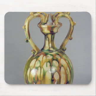 Amphora with handles in the form of dragon mouse pad
