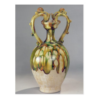 Amphora with handles in the form of dragon postcard