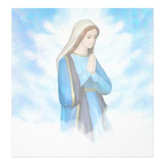 Ampliación bendecida de la foto del Virgen María Fotografía