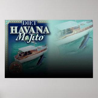 Ampliación de foto de la DIETA de LA HABANA MOJITO Poster
