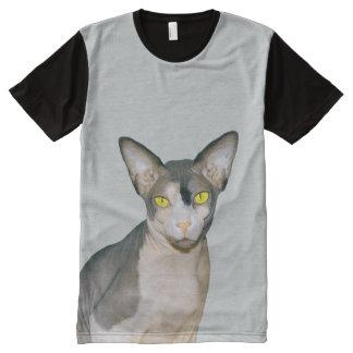 Ampliación de foto del gato de la camiseta el |