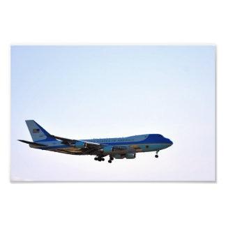 Ampliación de la foto de Air Force One