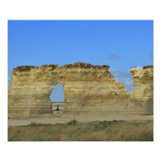 Ampliación de la foto de la roca del monumento de fotografía