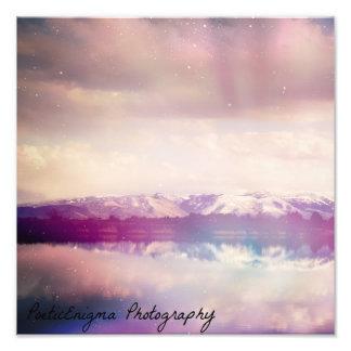 Ampliación de la foto de las montañas de Idaho Fotografía
