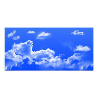 Ampliación de la foto de las nubes