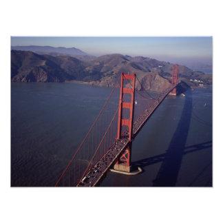 Ampliación de la foto de puente Golden Gate Fotografía