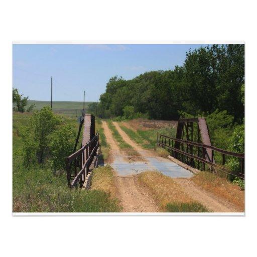 Ampliación de la foto del puente del país de Kansa