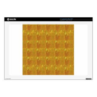 Ampliación de oro HealingSTONE del CRISTAL 2000X Skins Para Portátil