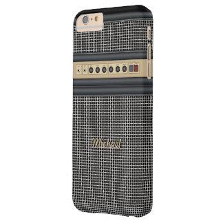Amplificador de sonidos de la guitarra de la funda para iPhone 6 plus barely there