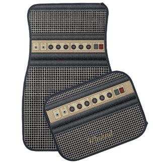 Amplificador de sonidos de la guitarra de la músic alfombrilla de coche