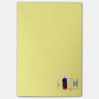 Amplifier Tube Post-it® Notes