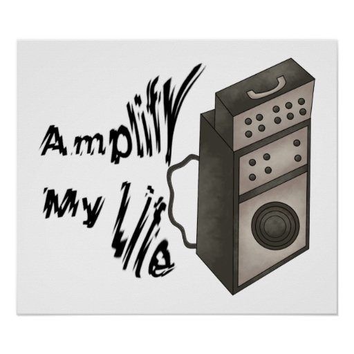 Amplifique mi vida póster
