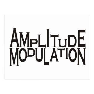 Amplitude Postcard