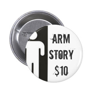 AMPMANlargedouble, Arm Story$10 Pinback Button