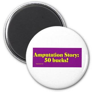 amputation_story 2 inch round magnet