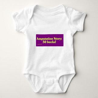 amputation_story baby bodysuit