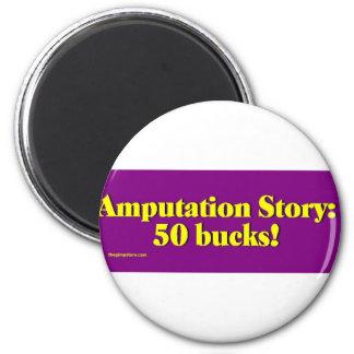 amputation_story imán redondo 5 cm