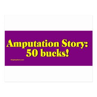 amputation_story postcard