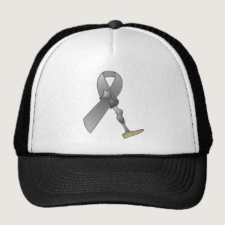Amputee Awareness Ribbon Trucker Hat