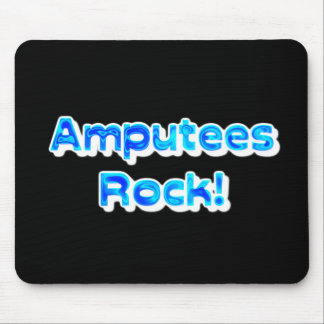 Amputees Rock! Mouse Pad