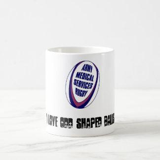 AMS Rugby Mug with ARU Logo